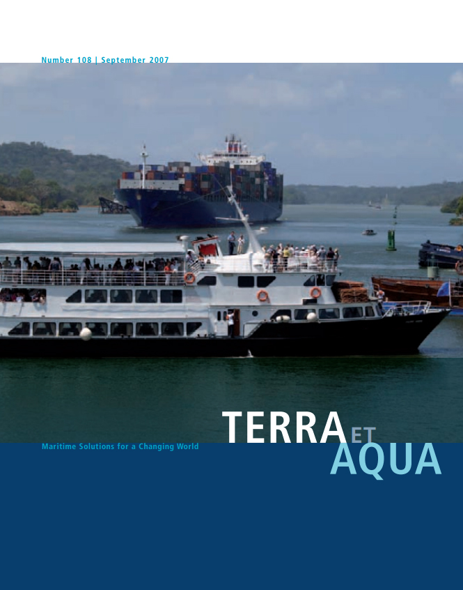 Traffic on the Panama Canal is constant, day and night, with more than 13,000 ships, from private yachts to Panamax cargo vessels, transiting everyday. Even crucial dredging operations for deepening and widening the Canal are not allowed to interrupt the flow of vessels.