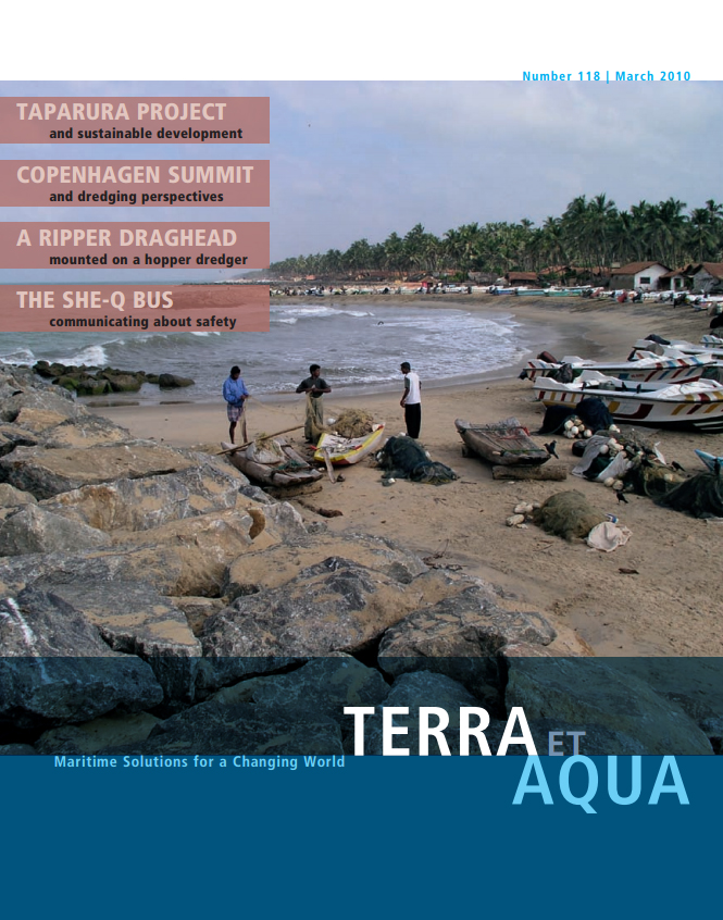 """The increasing impact of climate change on the marine environment requires integrated projects, such as the coastal rehabilitation and protection projects pictured here in Vennapuwa, Sri Lanka. This meant rebuilding the revetments with intermittent beach sections, known as the """"cove concept"""", so that the local fishermen still had landing possibilities for their boats."""