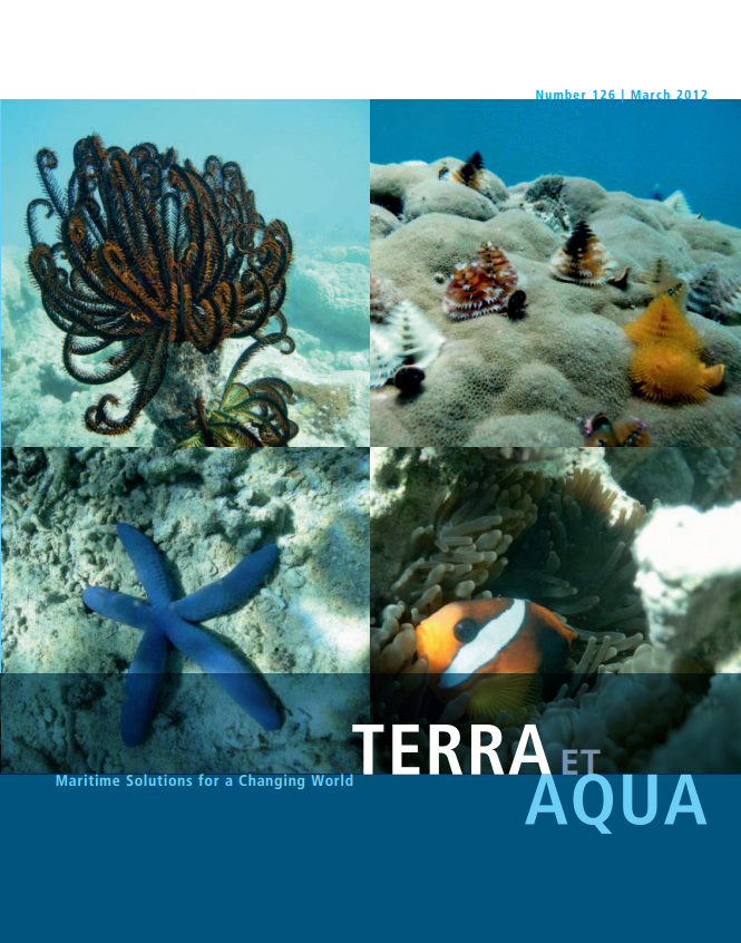 New Caledonia's tropical lagoons and coral reefs are one of the three most extensive, highly diverse reef systems in the world. Shown here, a sampling of the multitude of exceptional coral and fish species found there. For the dredging works inNew Caledonia a detailed Environmental Management Plan (EMP) was prepared and its successful implementation proved that good environmental management, which uses both pro-active and re-active approaches, can prevent unnecessary consequences (see page 25).