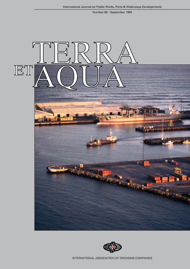 The Wear Sensitive Cutting Principle of a Cutter Suction Dredger, Privatisation of Ports in New Zealand, Besòs Long Sea Outfall, Barcelona, A Tale of Two Dredgers