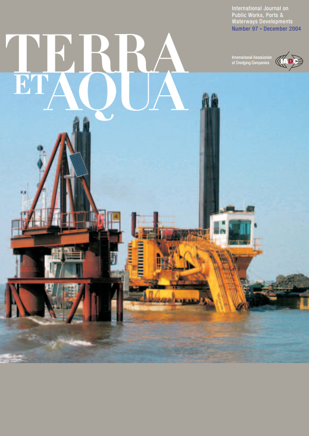 Editorial, Eemszinker: Safely Trench Dredging a Live Gas Line, Environmental Impacts of Dredging in the Niger Delta, A Strategy for Wetlands Restoration: Steps Towards Sustainable Development