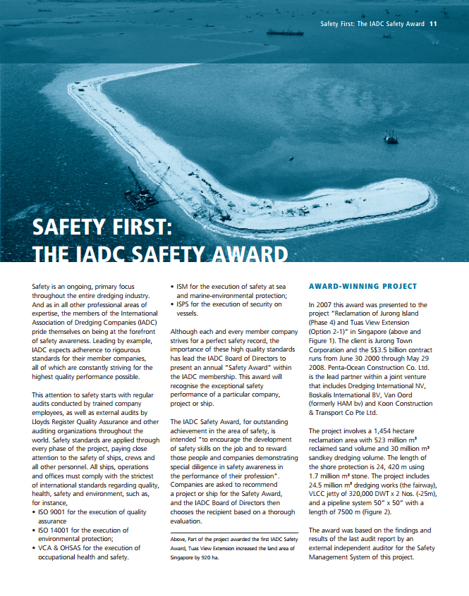 Safety First: The IADC Safety Award.