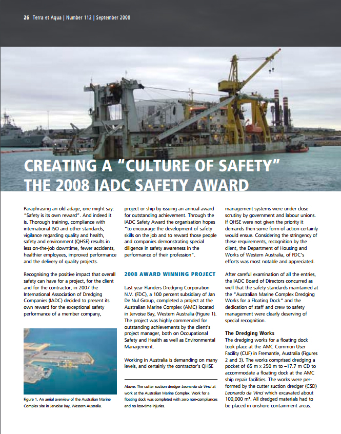 "Creating a ""Culture of Safety"""