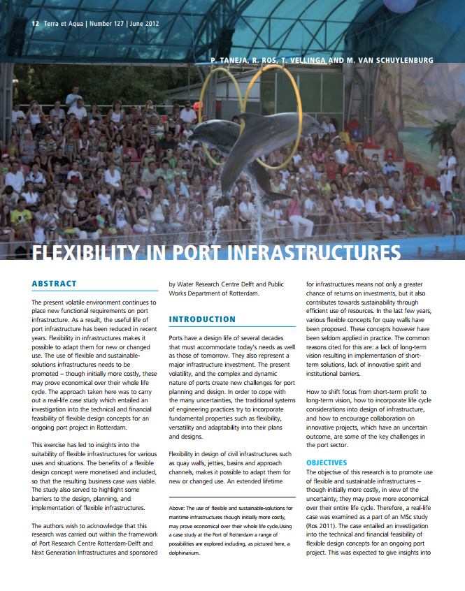 Flexibility in Port Infrastructures