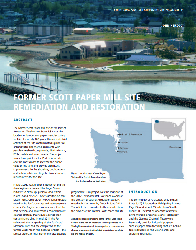 Former Scott Paper Mill Remediation and Restoration