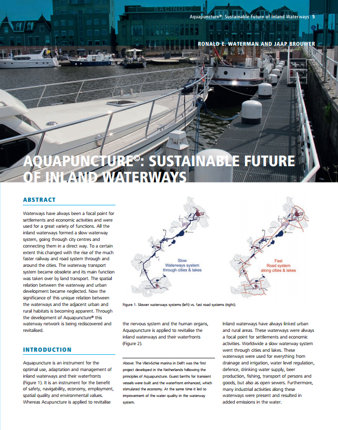 Aquapuncture©: Sustainable Future of Inland Waterways