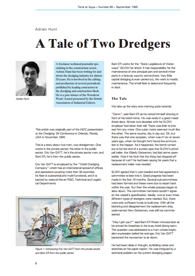A Tale of Two Dredgers