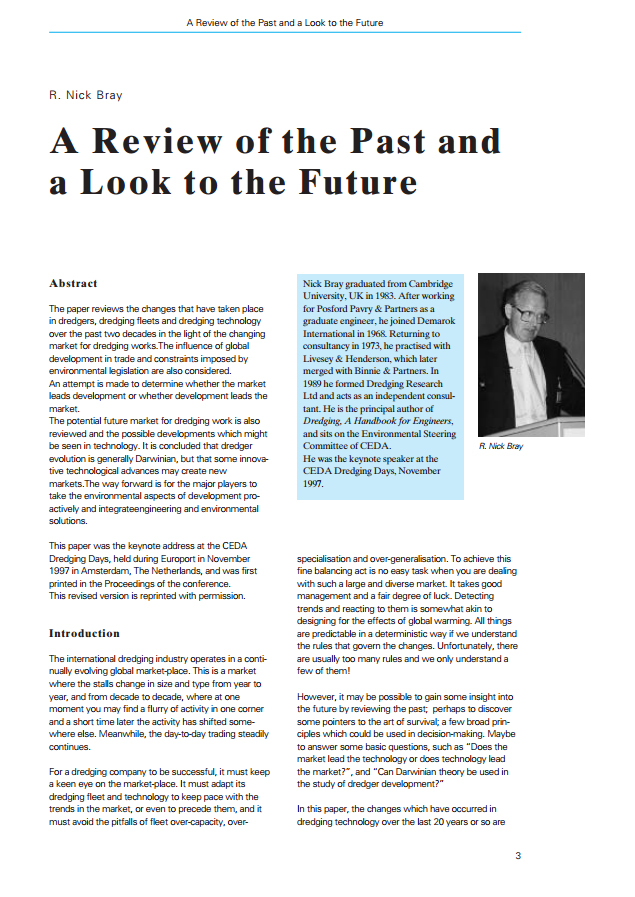 A Review of the Past and a Look to the Future