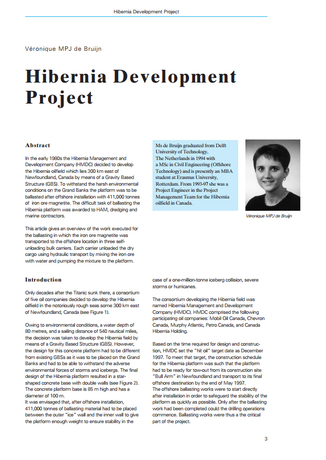 Hibernia Development Project
