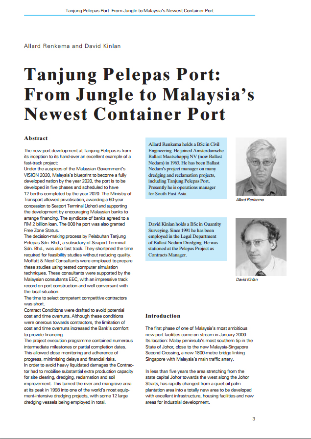 Tanjung Pelepas Port: From Jungle to Malaysia's Newest Container Port
