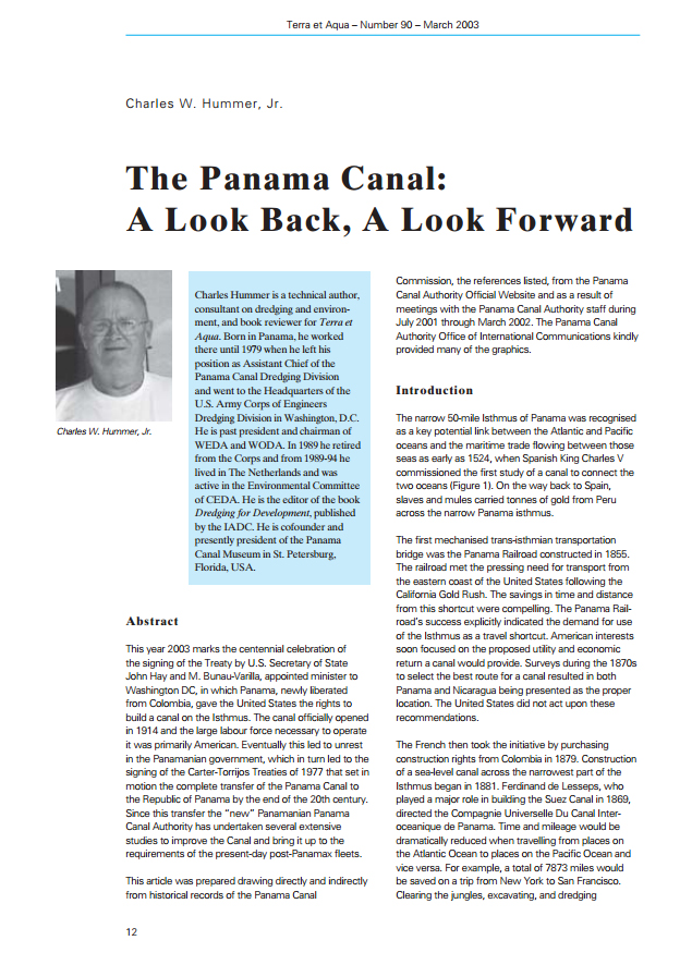 The Panama Canal: A Look Back, A Look Forward