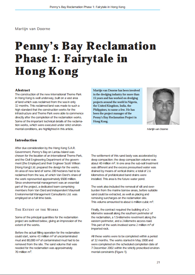 Penny's Bay Reclamation Phase 1: Fairytale in Hong Kong