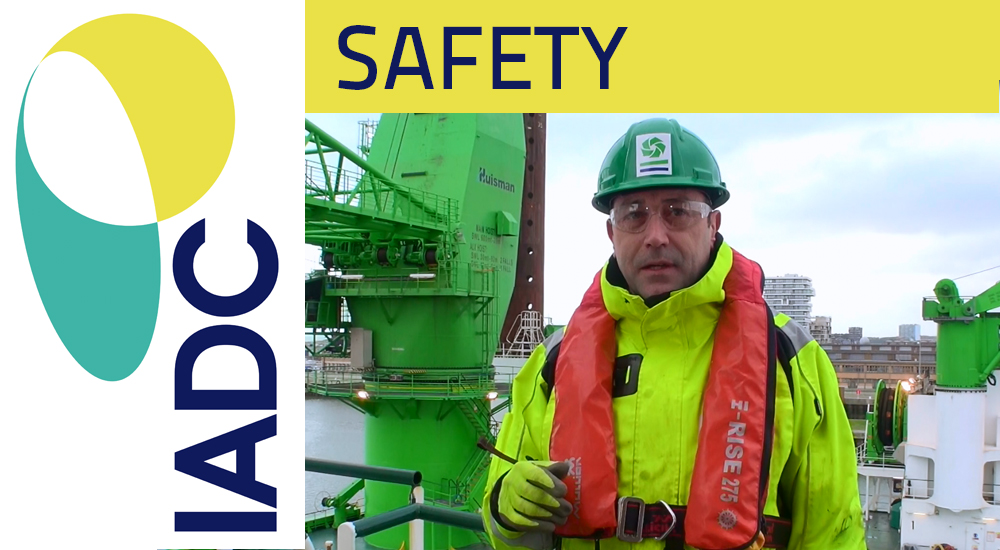 """Video DEME wins IADC Safety Award: """"Enhanced Muster station"""""""