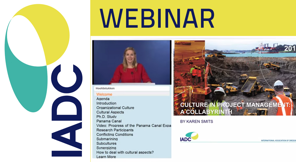 Video webinar Cross Culture Work: Practices of Collaboration in the Panama Canal Expansion Program