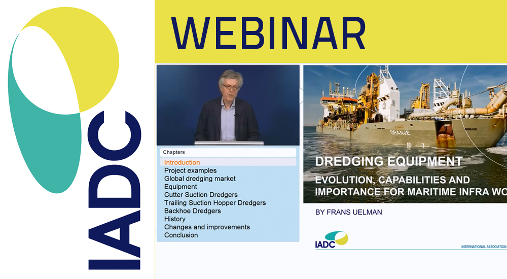 Video webinar Dredging Equipment
