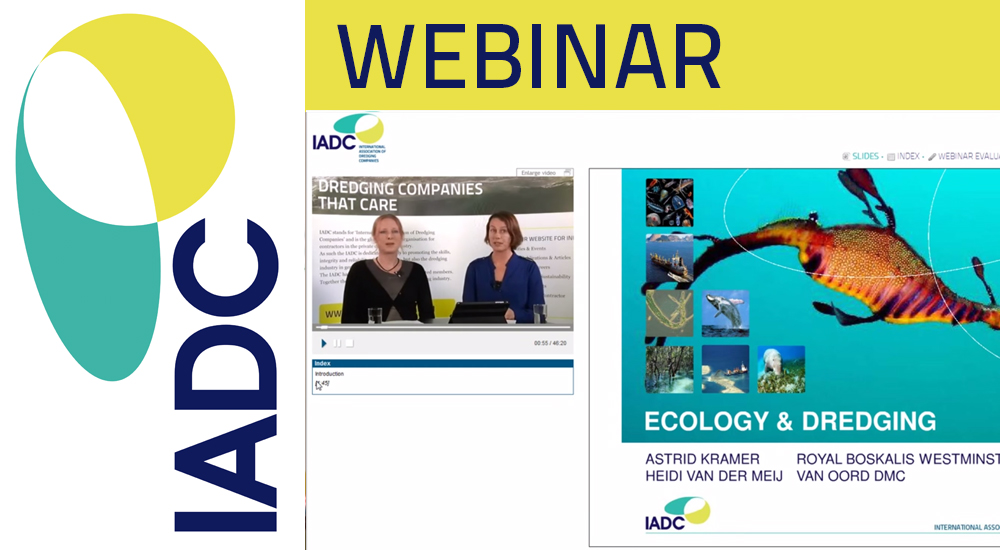 Video webinar Ecology and Dredging