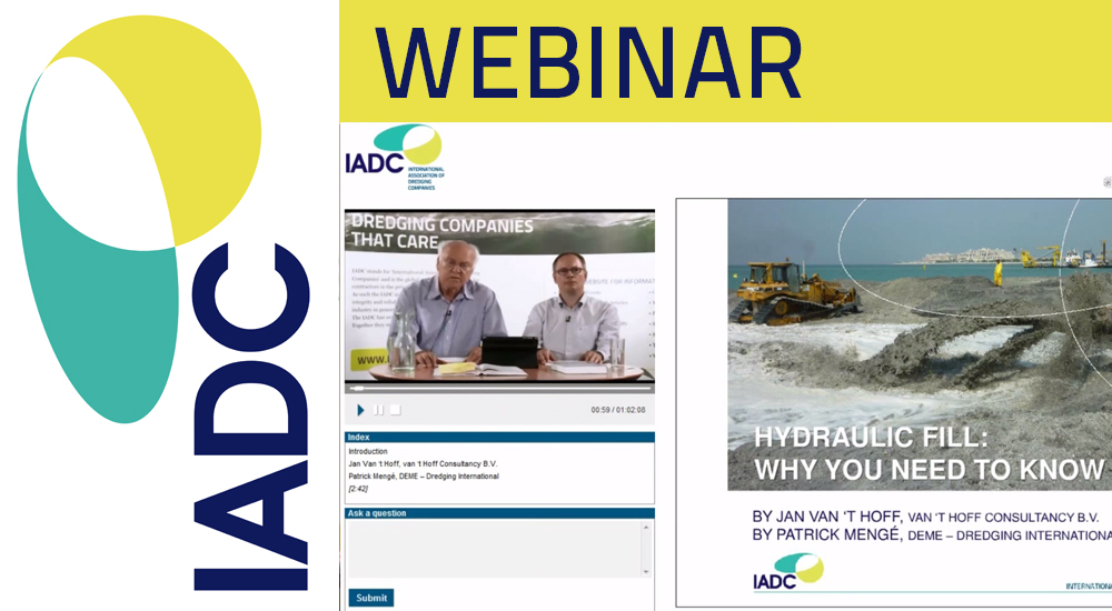 Video webinar Hydraulic Fill Manual