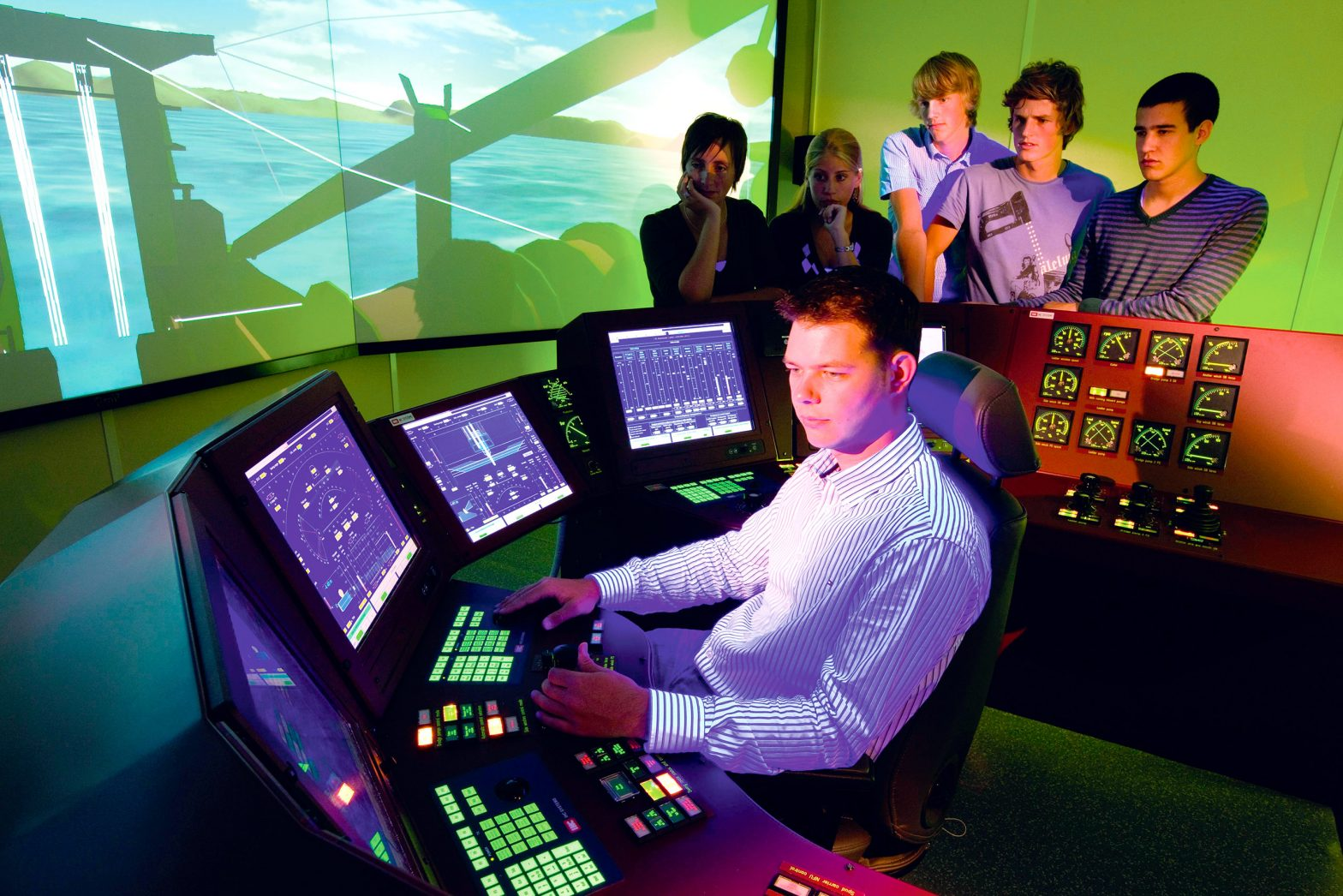 Other high-tech dredging equipment - simulators