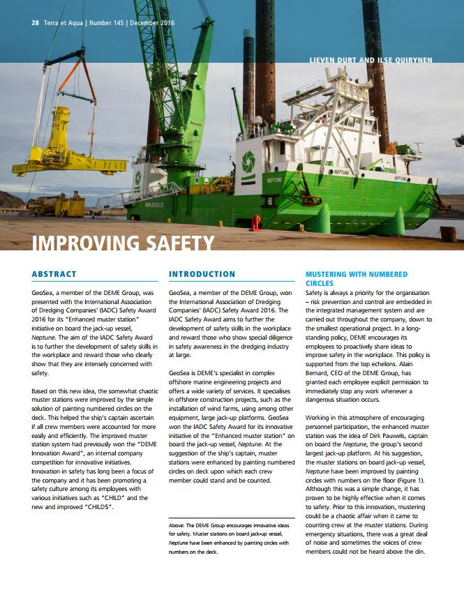 Improving Safety