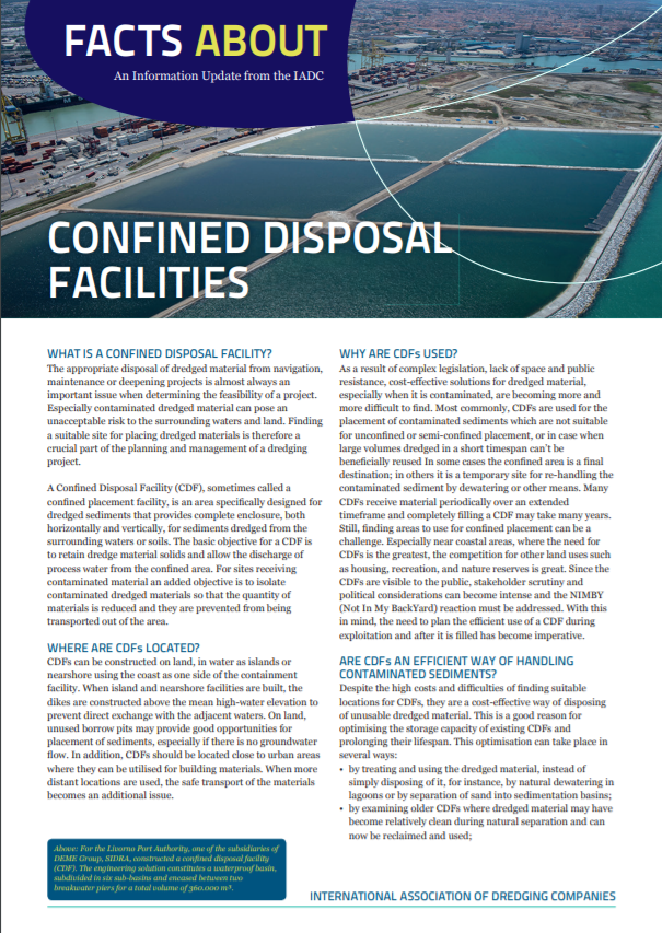 FA Confined Disposal Facilities