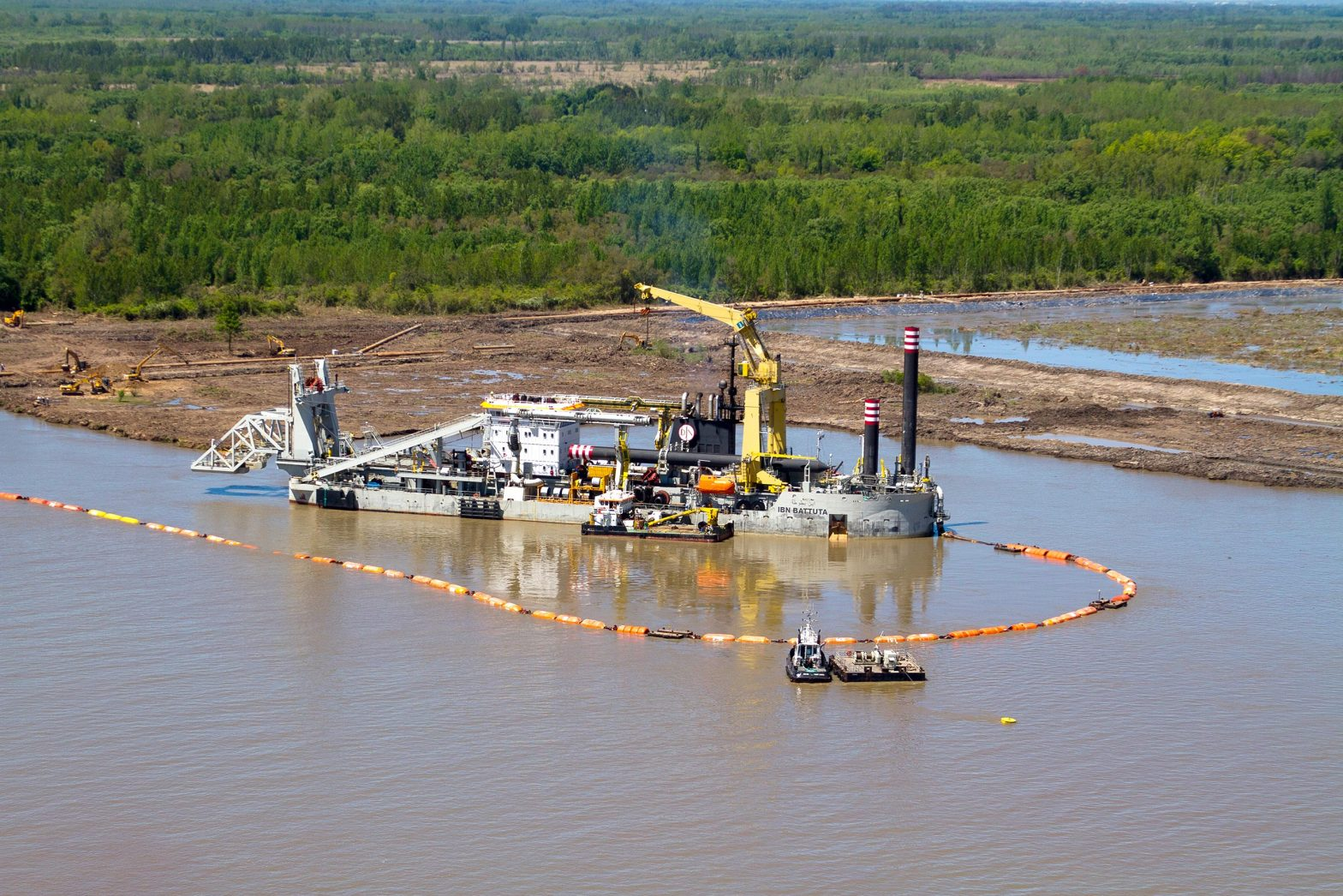 Types of Dredging Projects