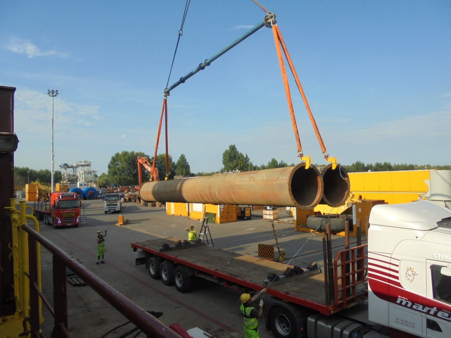 Safety Award 2017 - Winner: Jan De Nul Group - Transport of Pipelines Optimisation