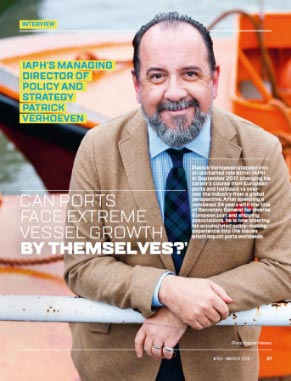 'Can ports face extreme vessel growth by themselves?'