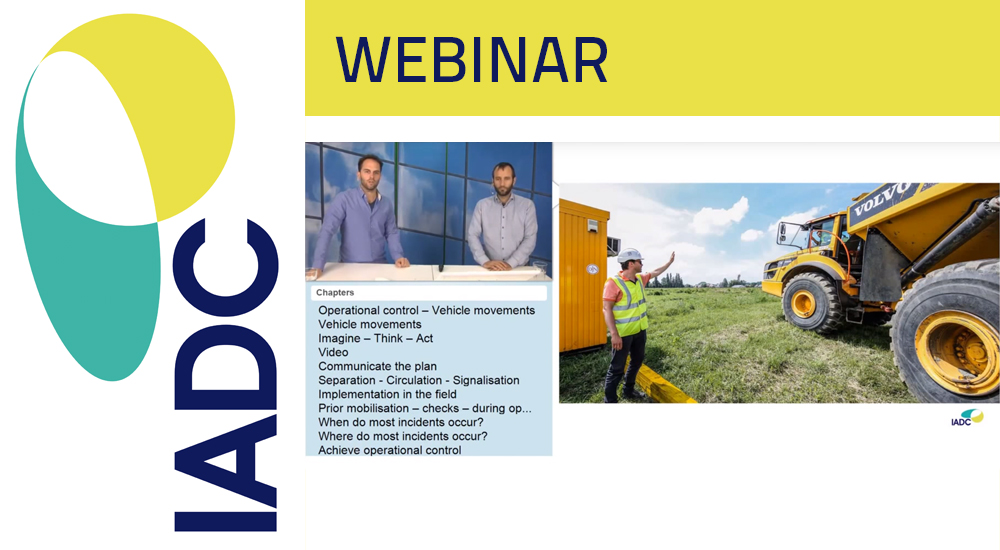 Webinar: Safety - Vehicle Movements