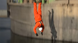 'Easy Rescue System' - 'De man over boord oefening'