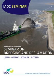 Cover IADC Dredging Seminar brochure